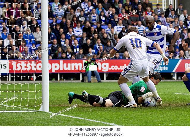 2012 NPower Championship Reading v Crystal Palace Apr 21st. 21.04.2012 Reading, England. Reading v Crystal Palace. Noel Hunt