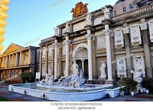 Naha, Okinawa, Japan: fake Fontana di Trevi by the Pacific Hotel Okinawa