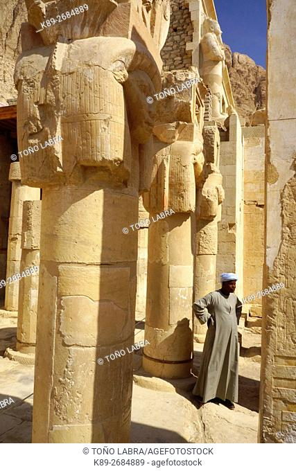 Hatshepsut Temple. West Bank. Luxor old Thebas. Upper Egypt