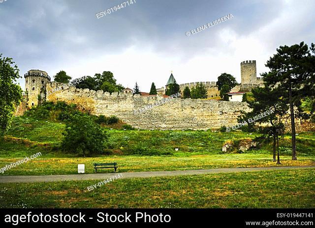 Kalemegdan fortress in Belgrade