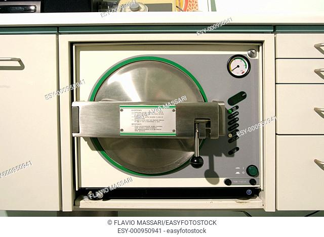 dentist tool autoclave