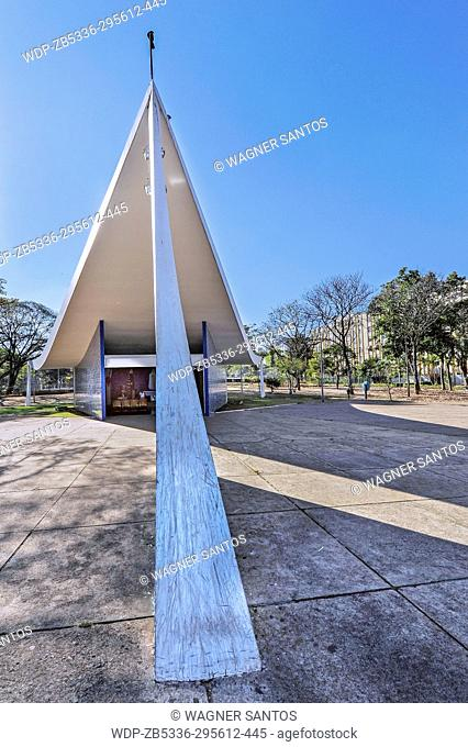 Our Lady of Fatima Church', was the first church to be built in Brasilia. It was designed by Oscar Niemeyer and looking like a cross between a nun's wimple and...