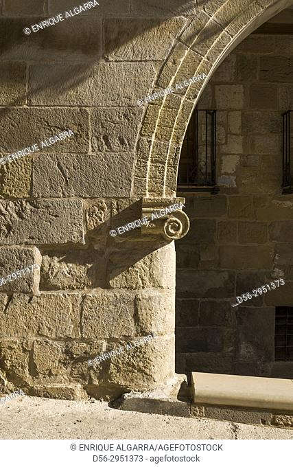 Comendador house S XVII La Fresneda Matarraña, Teruel, Aragon Spain