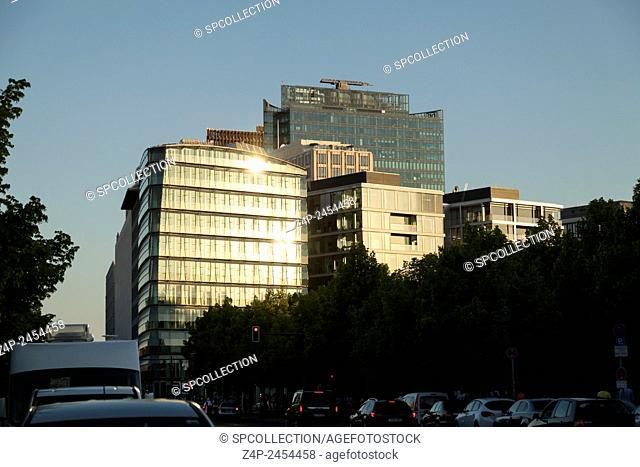 Buildings at Potsdamer Platz in Berlin