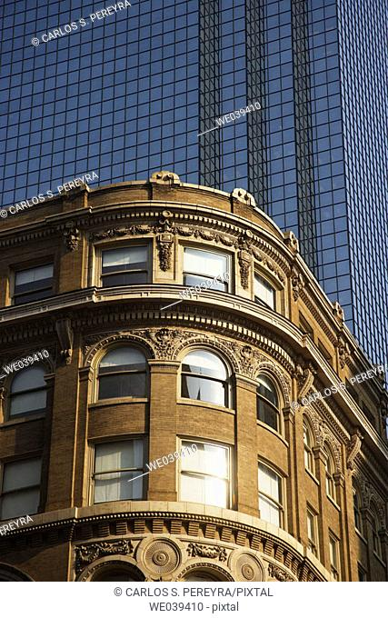 Old office buildings, Dallas. Texas, USA