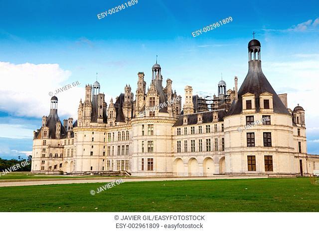 Castle of Chambord, Paises del Loira, France
