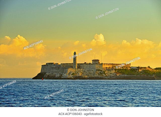 Morro Castle at the mouth of Havana harbour