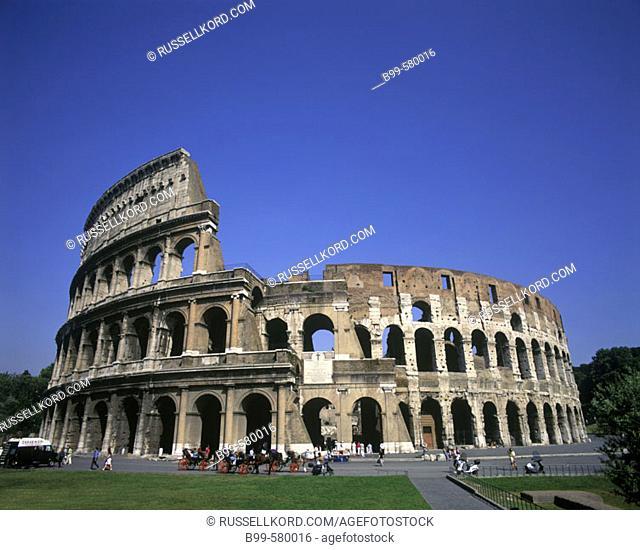 Coloseum Ruins, Rome, Italy