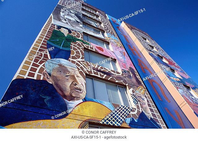 Mission District San Francisco California Usa Stock Photos And