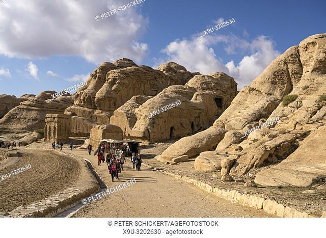 Djin Blocks in Petra, Jordan, Asia