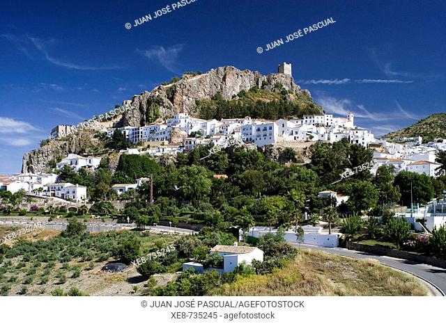 Zahara de la Sierra. Cadiz province, Andalucia, Spain