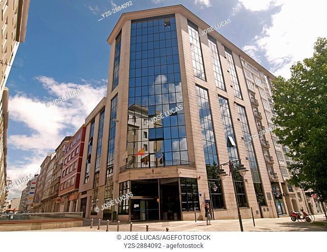 Administrative building of the Xunta de Galicia, Ferrol, La Coruna province, Region of Galicia, Spain, Europe
