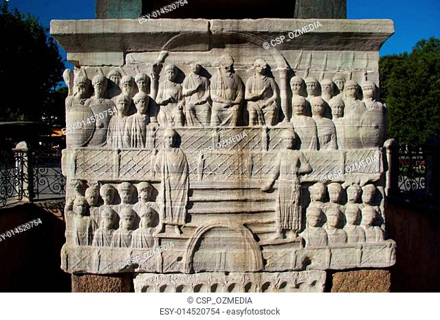 The Marble Pedestal of Theodosius Obelisk