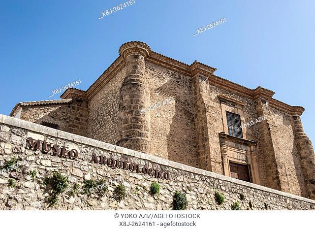 Spain, Murcia region, Caravaca de la Cruz, archaeological museum