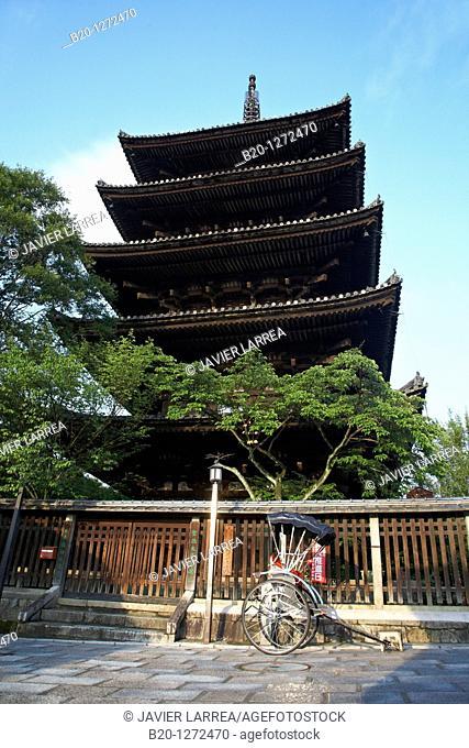 Yasaka Pagoda, Gion, Kyoto, Japan