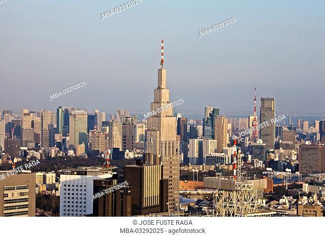 Japan, Tokyo, city centre, skyline