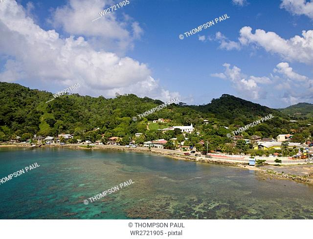 Coxen Hole, Bay Islands, America, Bay, Caribbean
