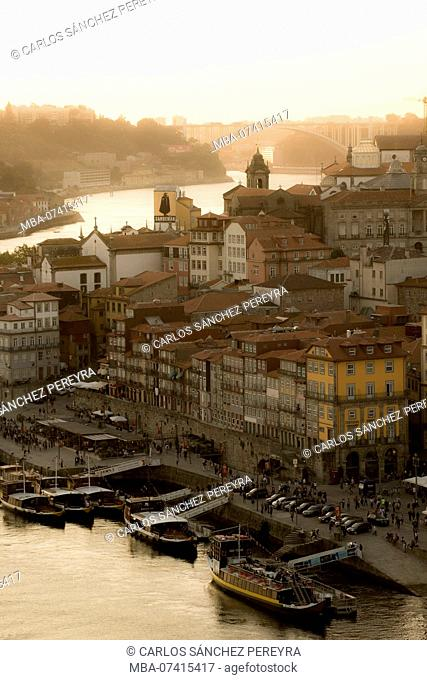 Historic centre Ribeira the Douro, Porto, Portugal, Europe
