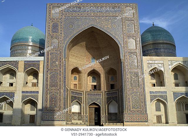 Mir-i-Arab maddrassah (religious school), Bukhara, Uzbekistan