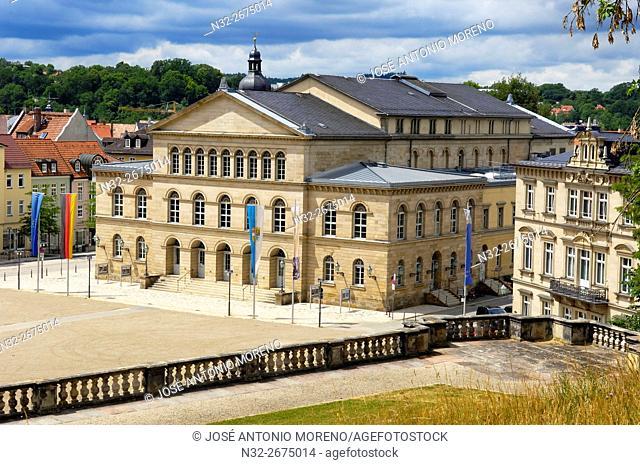 Coburg State Theatre, Coburg, Upper Franconia, Franconia, Bavaria, Germany, Europe