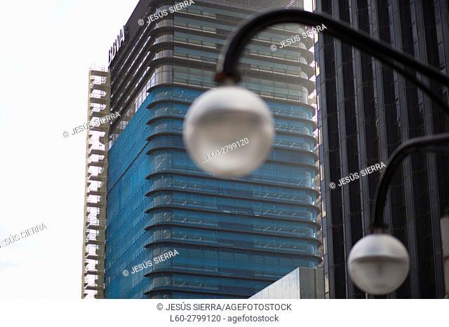Azca financial district. Madrid. Spain