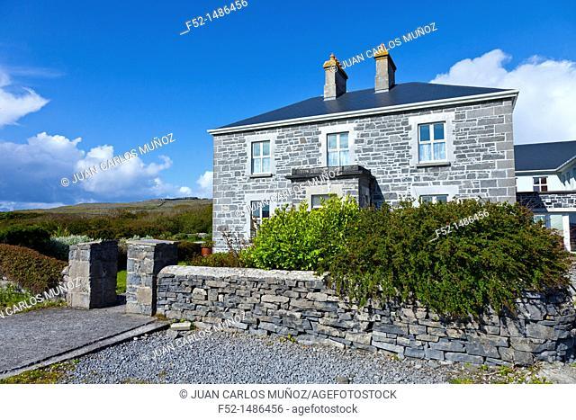 Kilmurvey Guesthouse  Kilmurvey Village  Inishmore Island, Aran Islands, Galway County, West Ireland, Europe