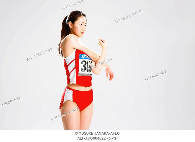 Japanese female athlete