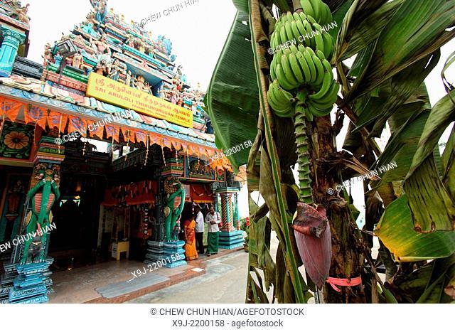 Hindu Indian Temple, George Town, Penang, Malaysia