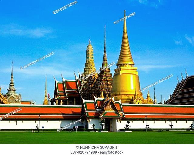 Wat pra kaew, Grand palace ,Bangkok,Thailand