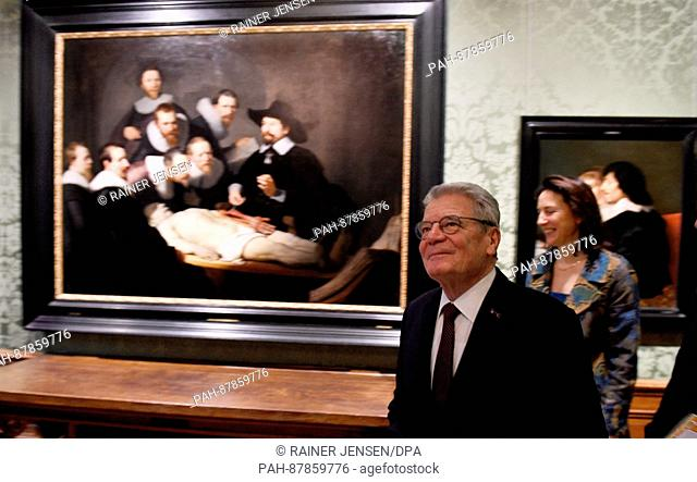 Rembrandt Anatomy Lesson Stock Photos And Images Age Fotostock