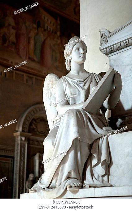 Florence - Santa Croce. Tomb of Prince Neri Corsini