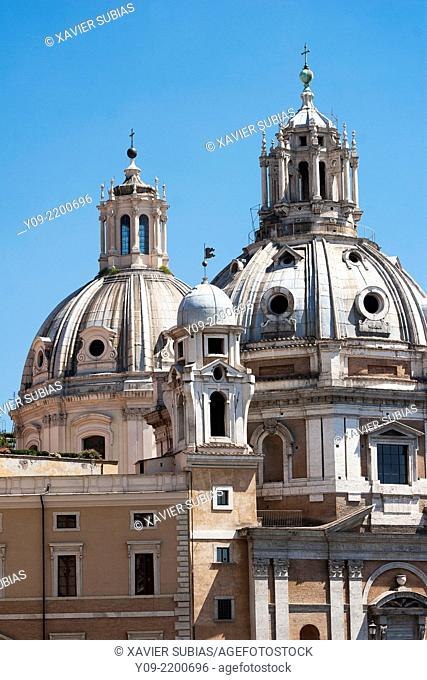 Church of the Most Holy Name of Mary at the Trajan Forum, Rome, Lazio, Italy